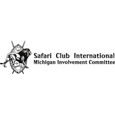 Safari Club International Michigan Involvement Committee Logo