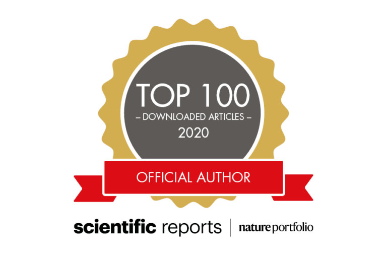 Top 100 Scientific Reports ecology papers in 2020