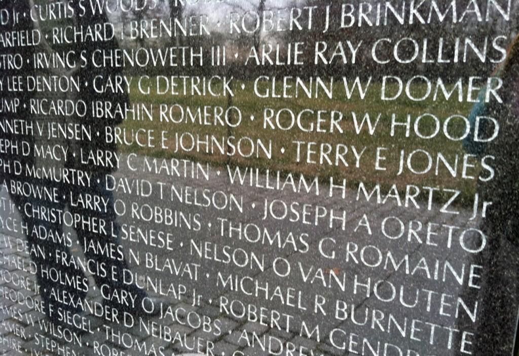 Vietnam Wall names