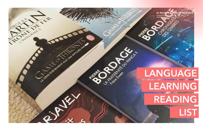 Language learning reading list