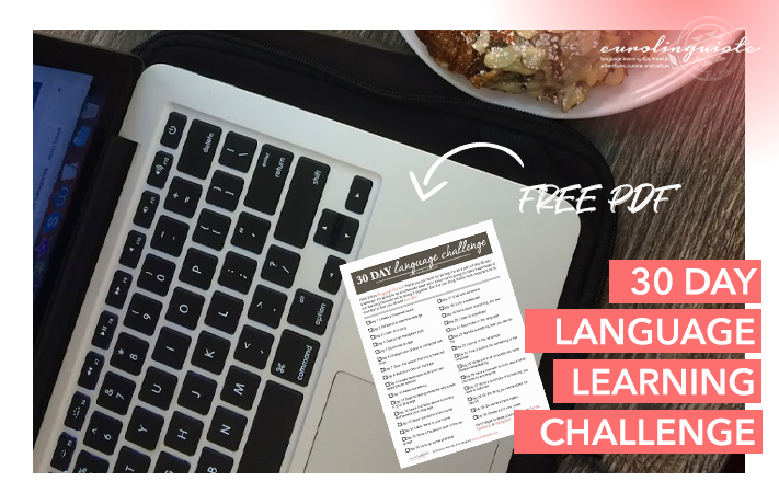 30 day language learning challenge