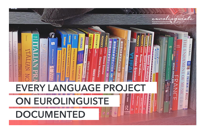 All Documented Language Learning Projects on Eurolinguiste