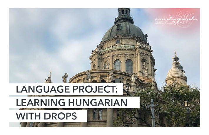 Learning Hungarian with Drops
