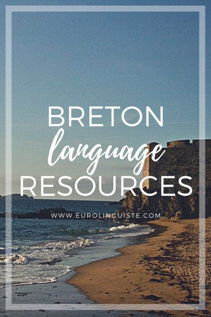 Breton language learning resources
