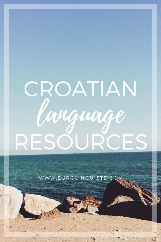Croatian language learning resources