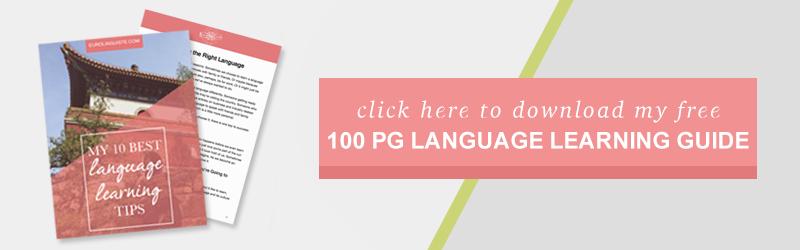 My 10 Best Language Learning Tips Free eBook | Eurolinguiste