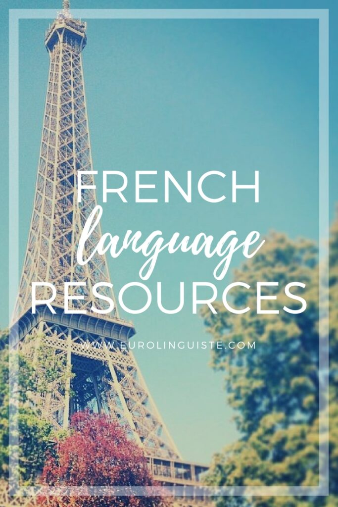 French language learning resources