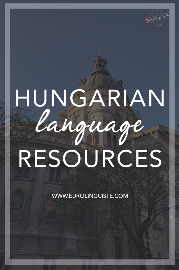 Hungarian language learning resources