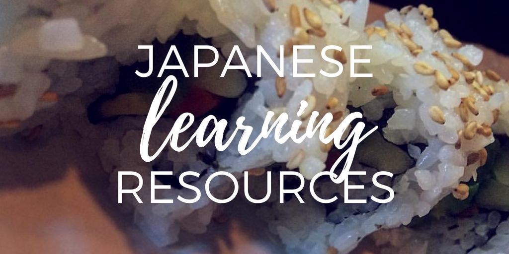 Japanese language learning resources