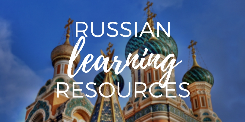 Russian language learning resources
