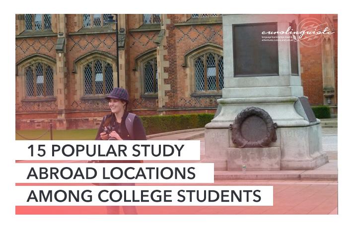15 lieux d'études à l'étranger populaires auprès des étudiants