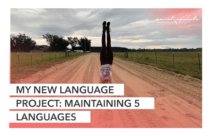 My New Language Project: Maintaining 5 Languages