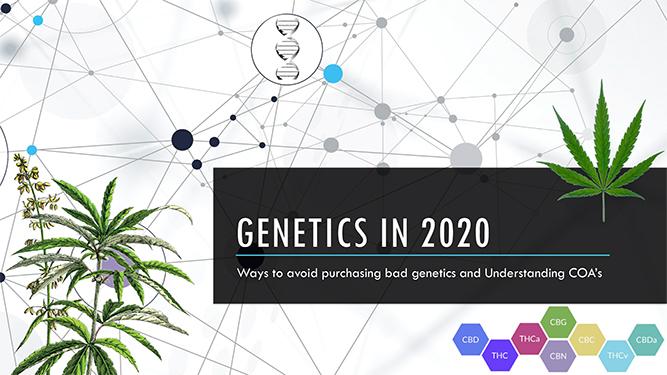 Genetics in 2020 webinar