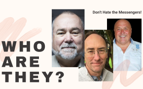 Charlie Ward, Robert David Steele, Simon Parkes