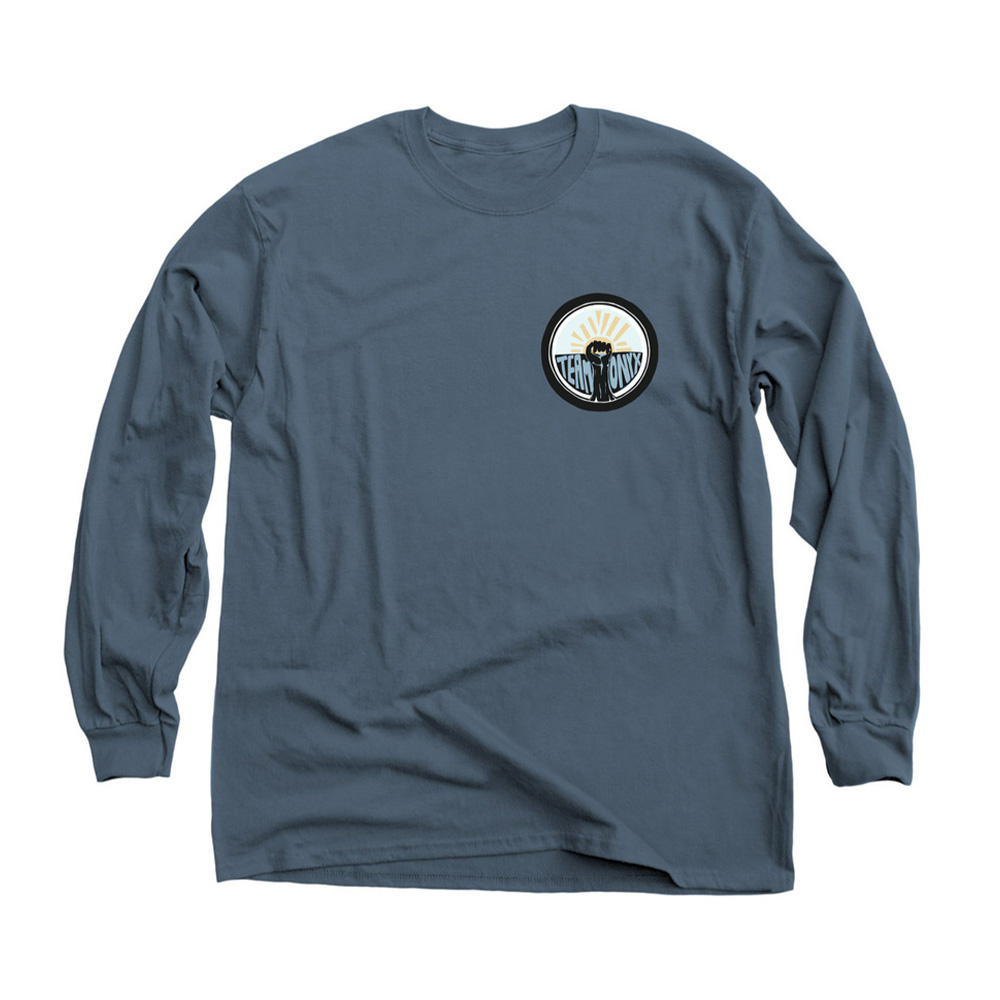 Classic Long Sleeve Tee Blue