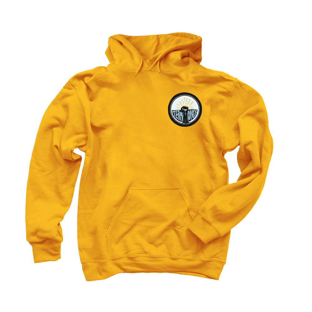 Pullover Hoodie Yellow