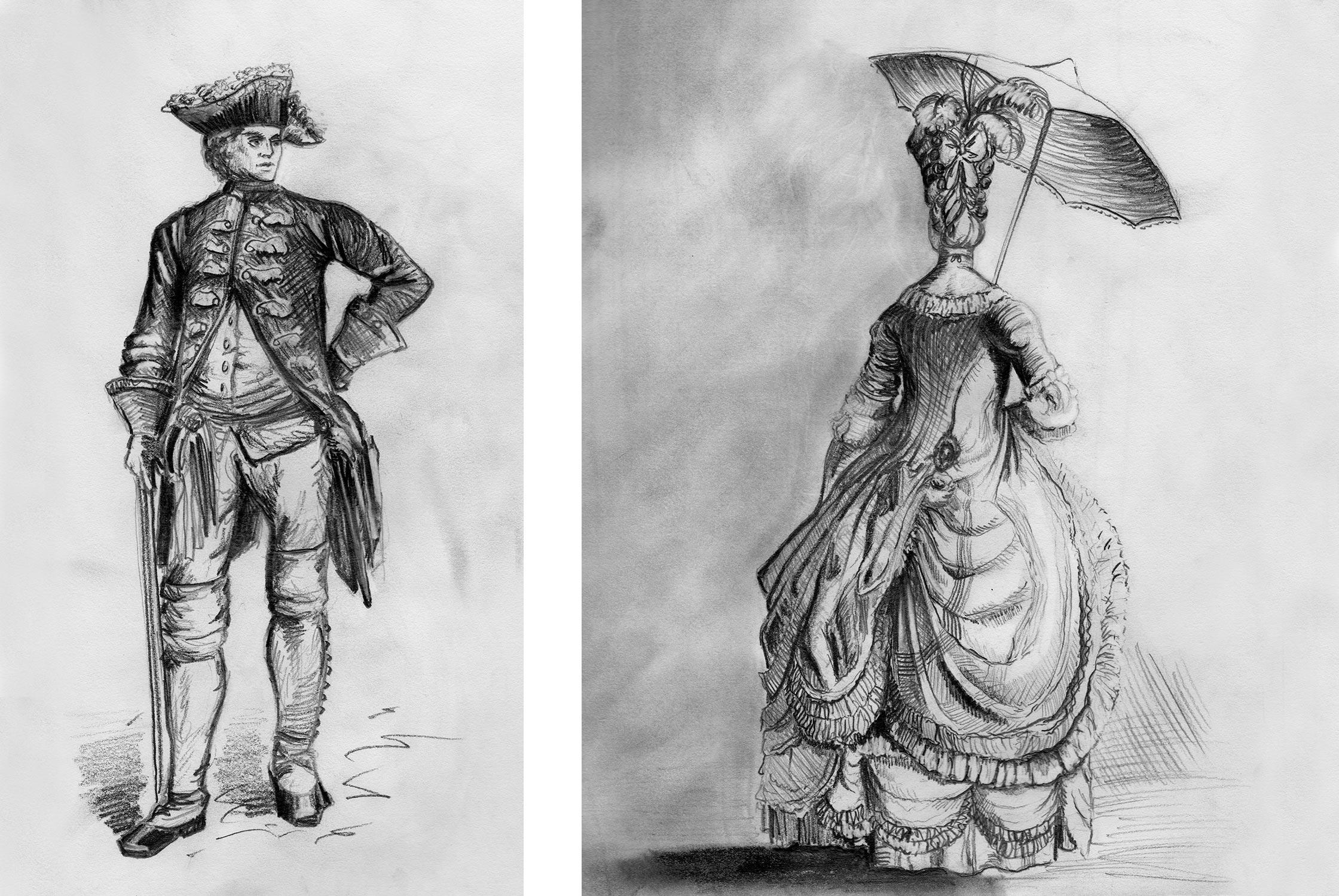 WEBSITE_PencilIllustrations_Colonial