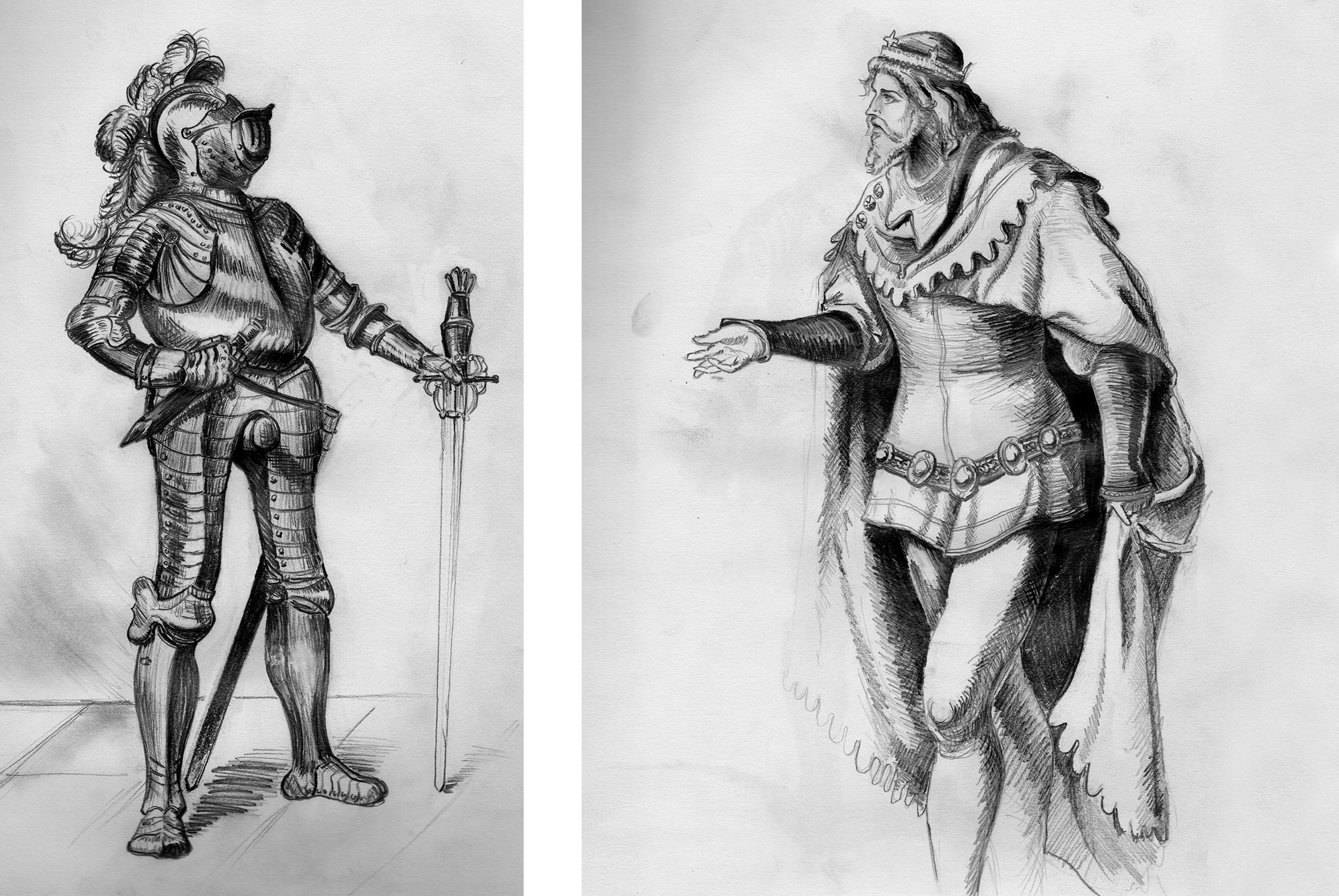 WEBSITE_PencilIllustrations_King