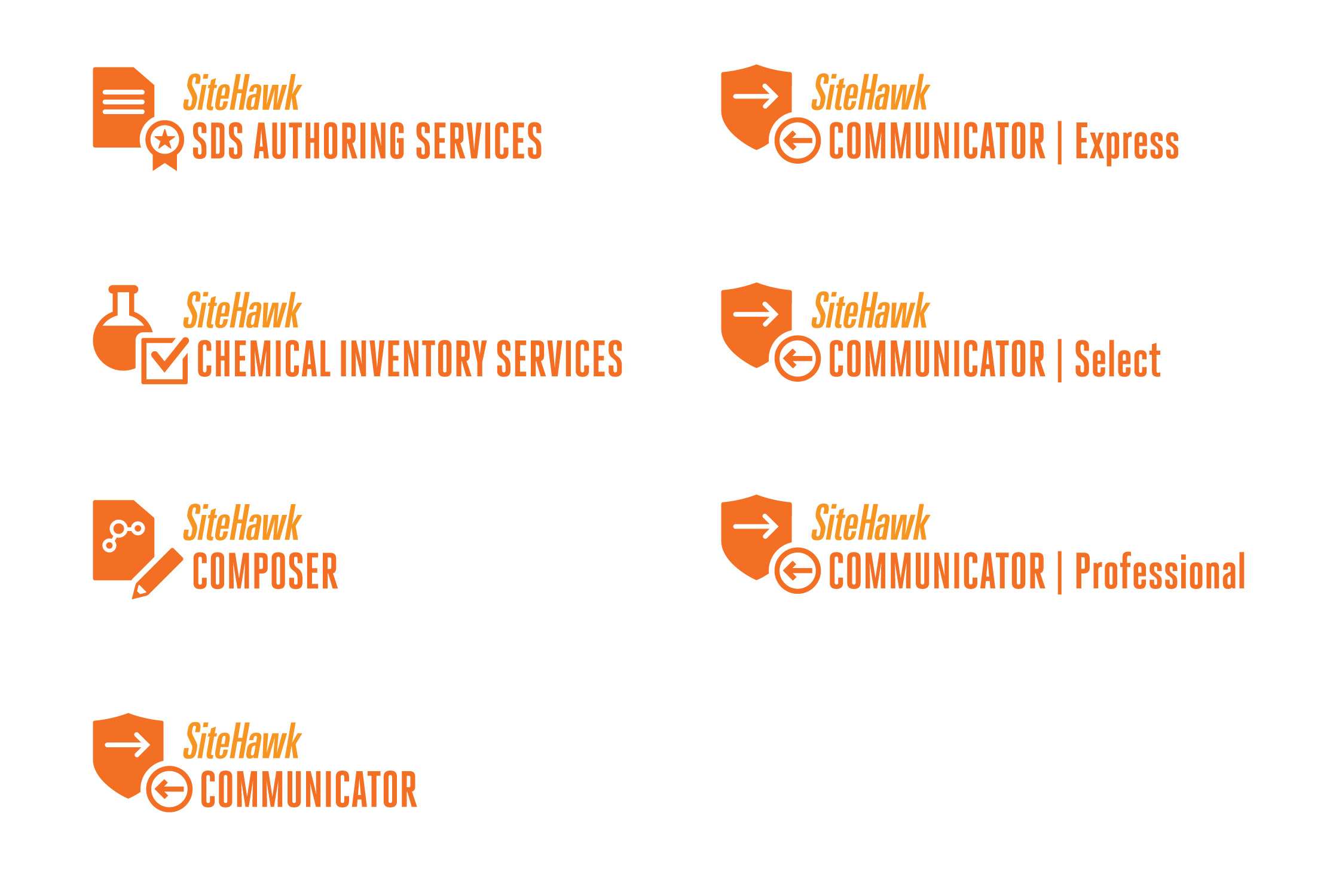 Products and Services Icons