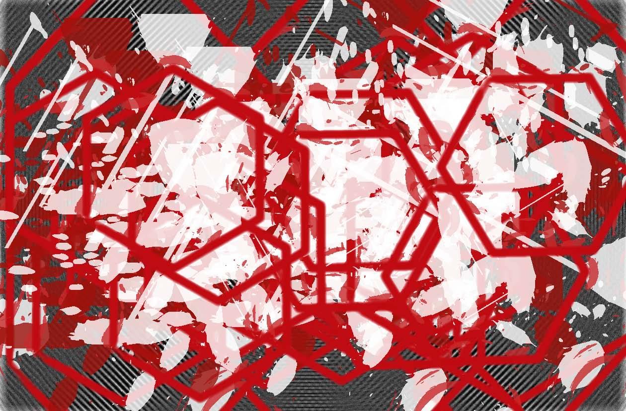 Scramble; Red Black & White Expressions