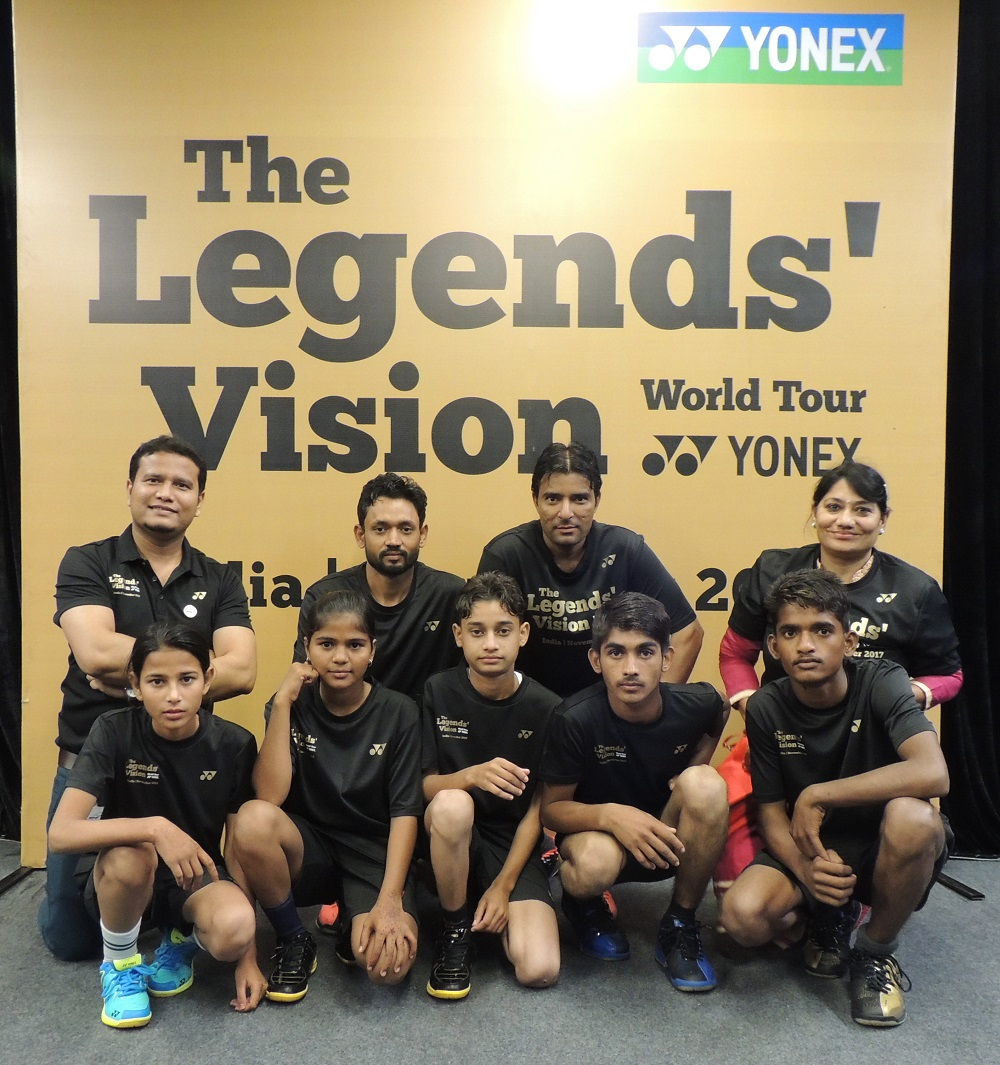 Our tiny tots from Mewat meet Badminton legends in Mumbai
