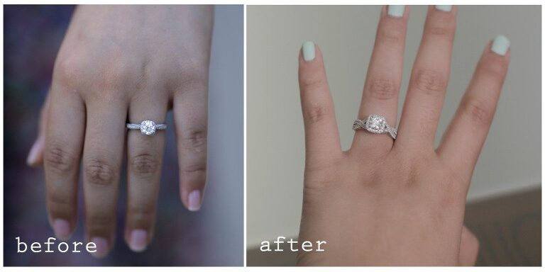 Engagement Rings customize AFTER the proposal wedding