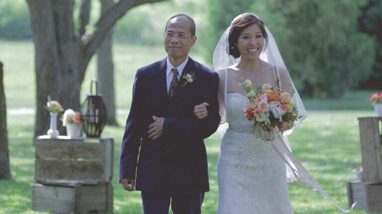 Kurtz Orchards Niagara-on-the-Lake wedding ceremony