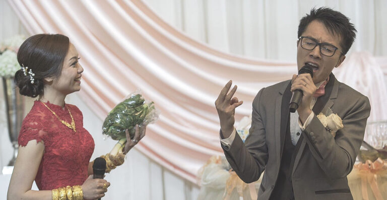 wedding held at Paradise Banquet and Convention Centre