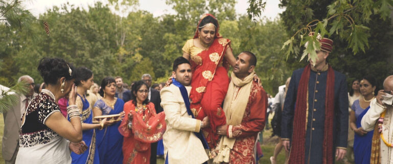 wedding held at RattleSnake Point Golf Club in Milton