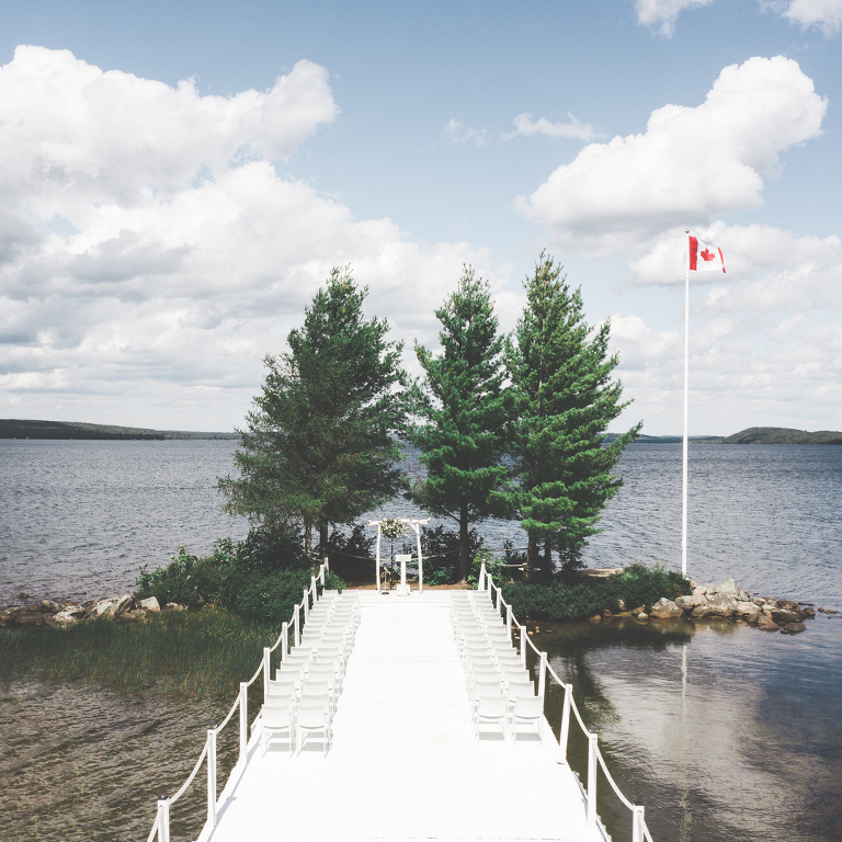 The Northridge Inn & Resort Muskoka wedding ceremony