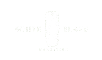 White Blaze Marketing Logo Banner