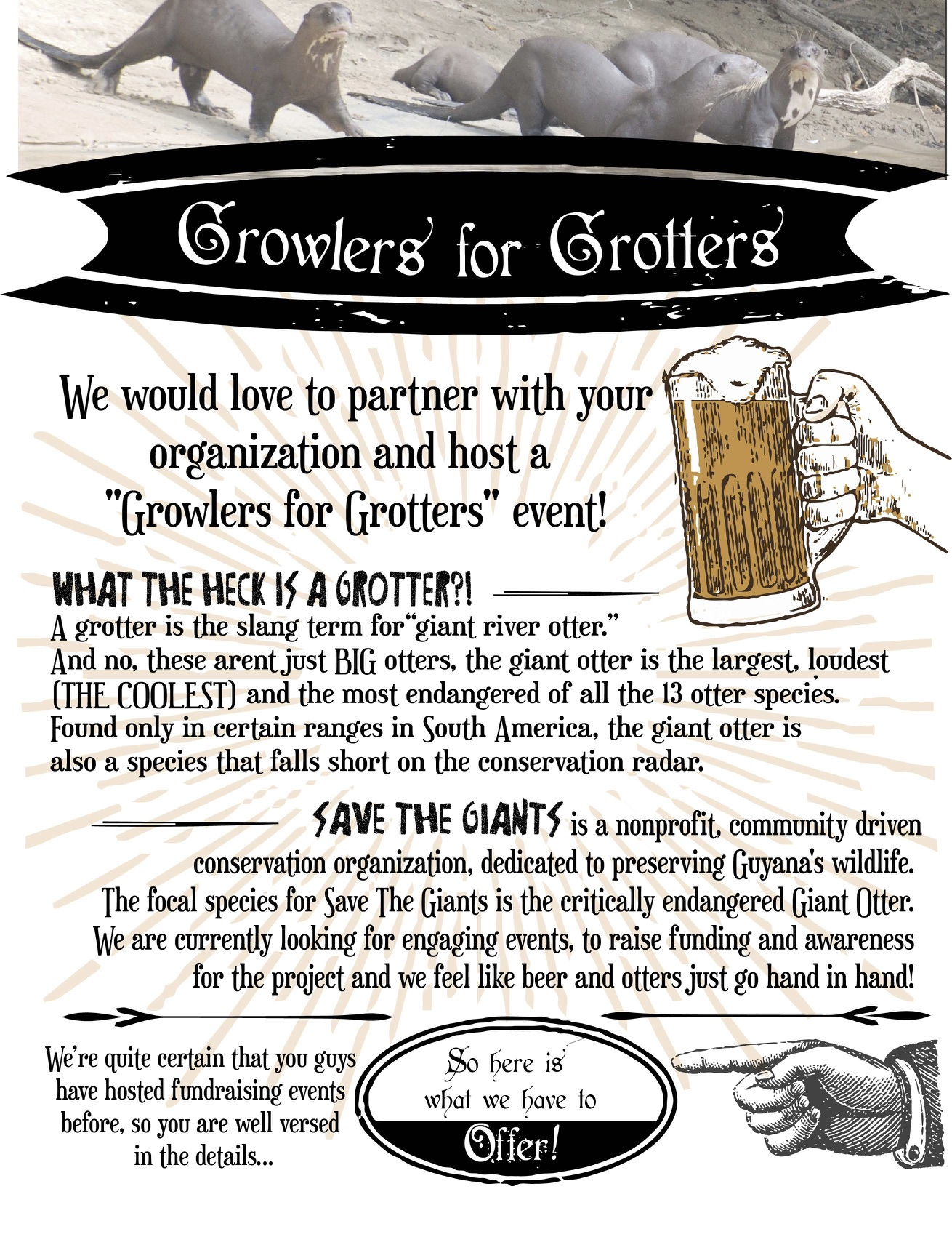 Growlers For Grotters