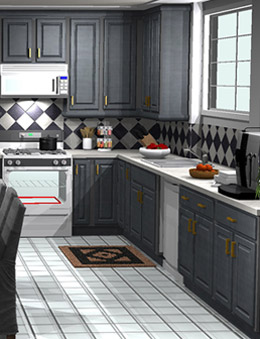 Free Kitchen Design >
