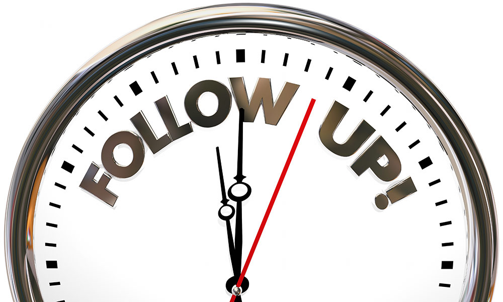 Stop Failing at Follow-up