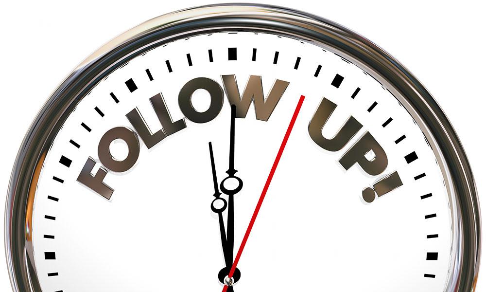 Stop Failing at Follow-up