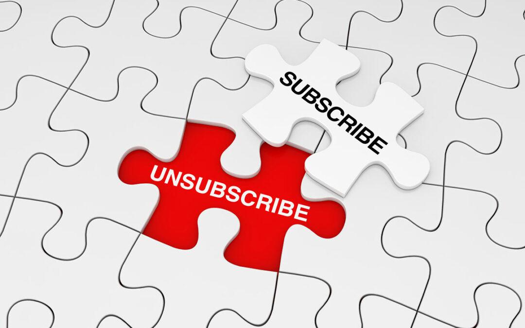 Understanding Unsubscribes