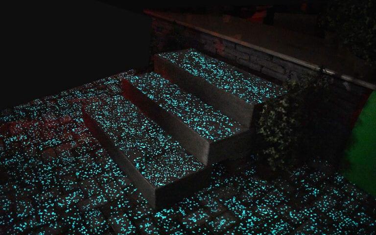 Glow Path Steps