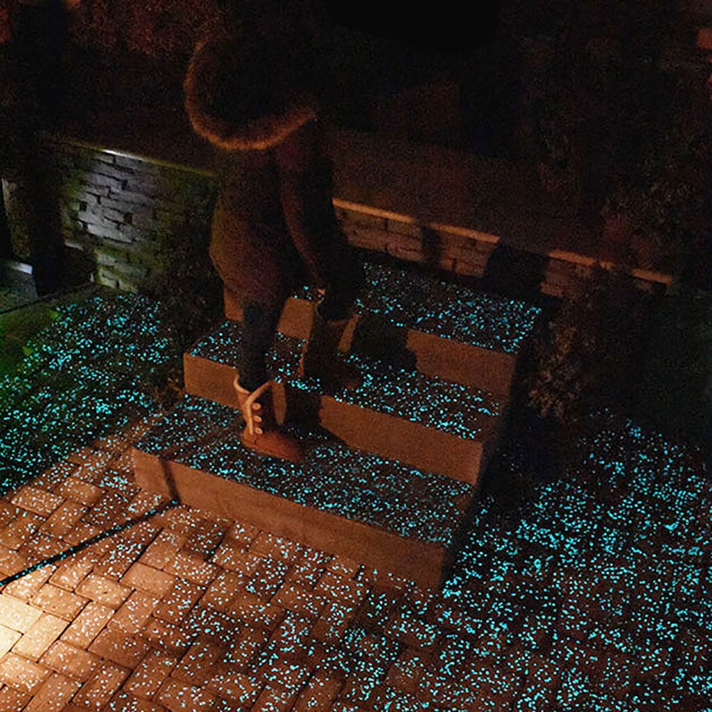 Woman on Glow Path Steps image