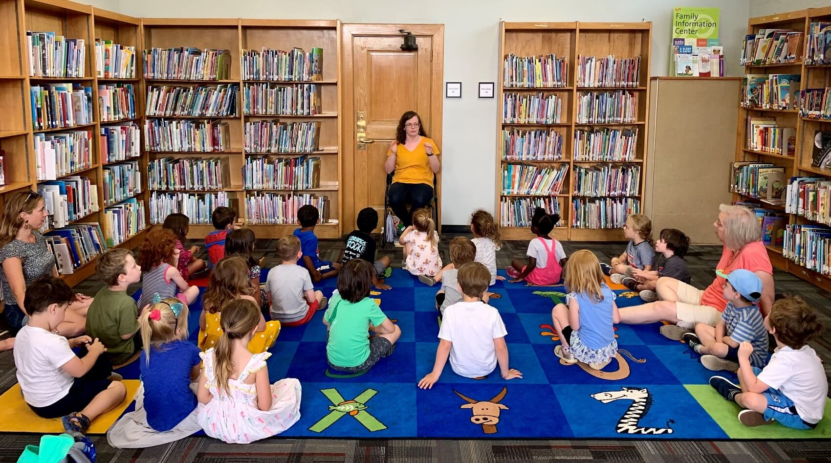 preschool in library