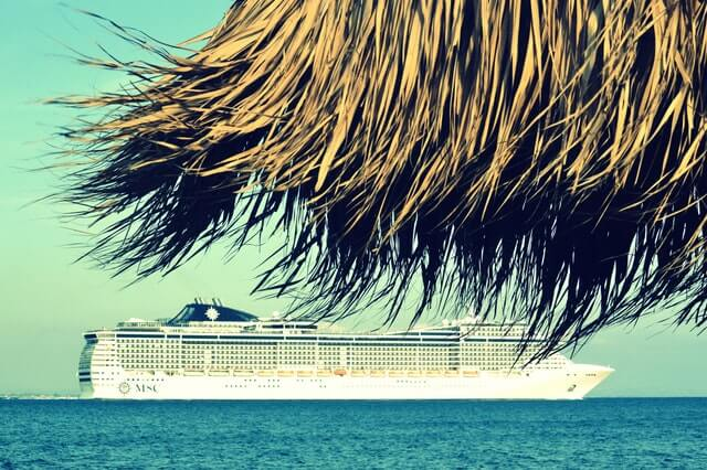 Cruise Ship in the tropics