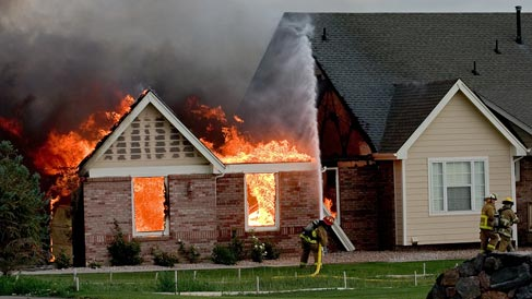 Photo of Home on Fire