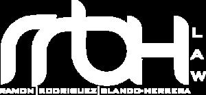 White RRBH Logo