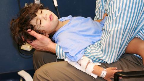 Photo of Injured Child