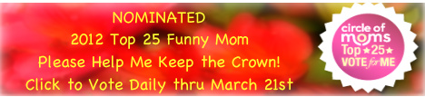 Let Me Start By Saying - 2012 Top 25 Funny Mom Nominee