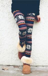 patterened leggings
