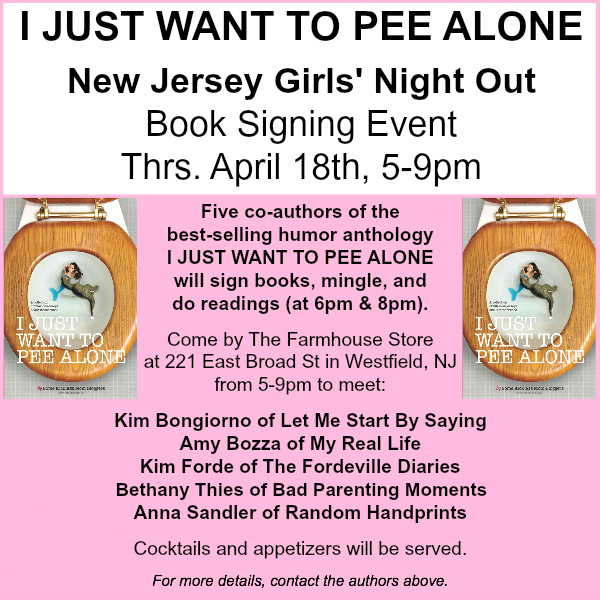 I Just Want to Pee Alone NJ Girls Night Out 2013