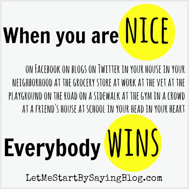 Being nice makes everyone win via @LetMeStart #blgos to read