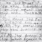 No Means No and Stop Means Stop by @letmestart | Raising kids who respect boundaries. #rapeculture