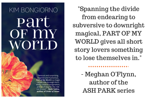 Enter to win an Amazon Fire, Amazon gift card, and one of ten copies of PART OF MY WORLD by Kim Bongiorno | via @letmestart | holiday giveaway books free Kindle gift ideas
