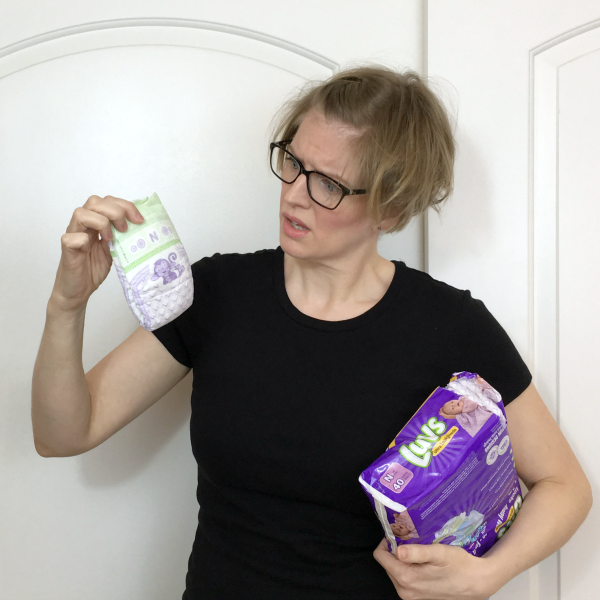 Luvs Parents vs First Time Parents featuring the itty bitty newborn diaper with @letmestart #sponsored   LOLs for mom and family
